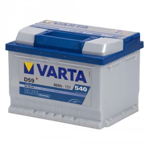 Autobatterien Varta Blue Dynamic D59