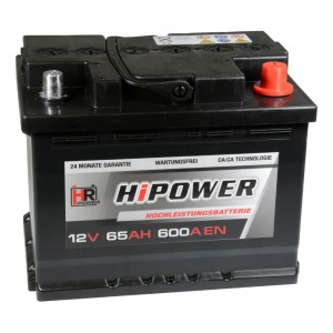 HR HiPower Autobatterien Test