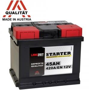 LANGZEIT Autobatterien 12V 45Ah ersetzt Test