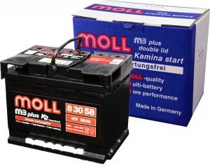 Moll M3 Plus K2 Doppeldeckel Autobatterie Test