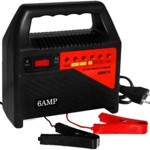 Autobatterie Ladegerät Test Platz 3